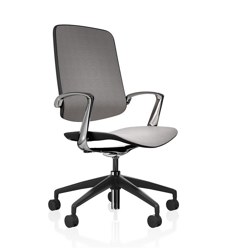 Boss Design Trinetic Dynamic Office Chair, Knitted Mesh Seat and Back
