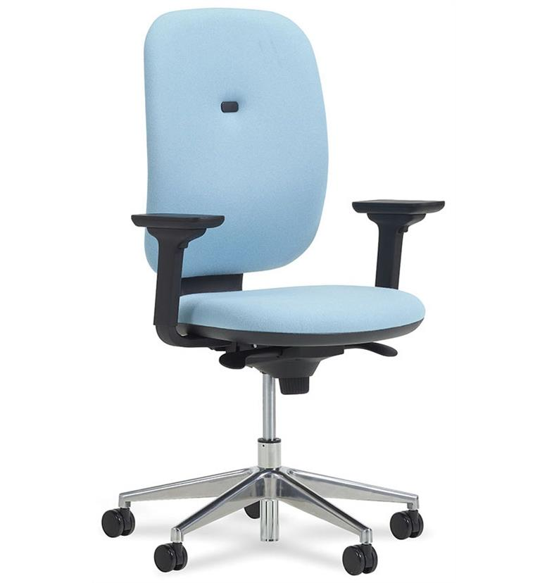 Verco Apollo High Back Task Chair Height Adjustable Arms Office Chairs Uk