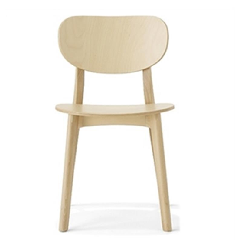 Allermuir Jaicer Wooden Side Chair 1