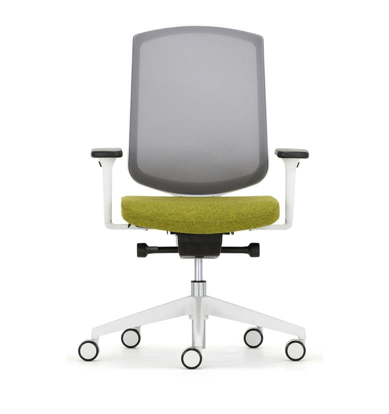 Senator Clipper Light Grey Office Chair Office Chairs UK - Grey office chair