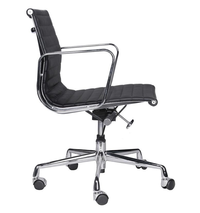 Vitra aluminium group eames ea 117 medium back office for Eames vitra replica