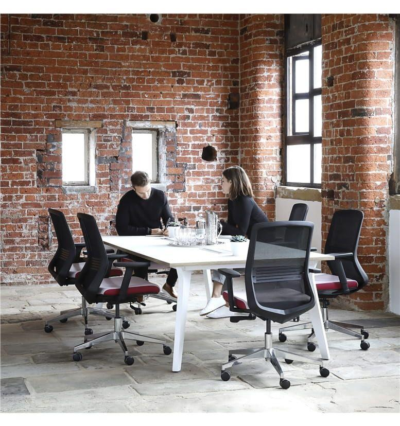 Elite Lux Square Meeting Table Office Chairs Uk