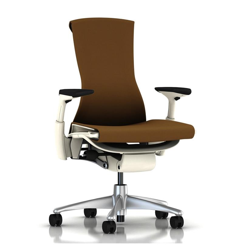 Herman Miller Embody White Molasses Rhythm Front
