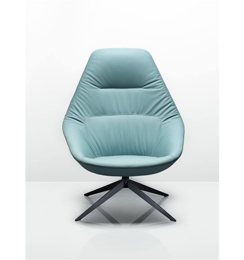 Remarkable Allermuir Famiglia Lounge Chair With 4 Star Swivel Base Ibusinesslaw Wood Chair Design Ideas Ibusinesslaworg