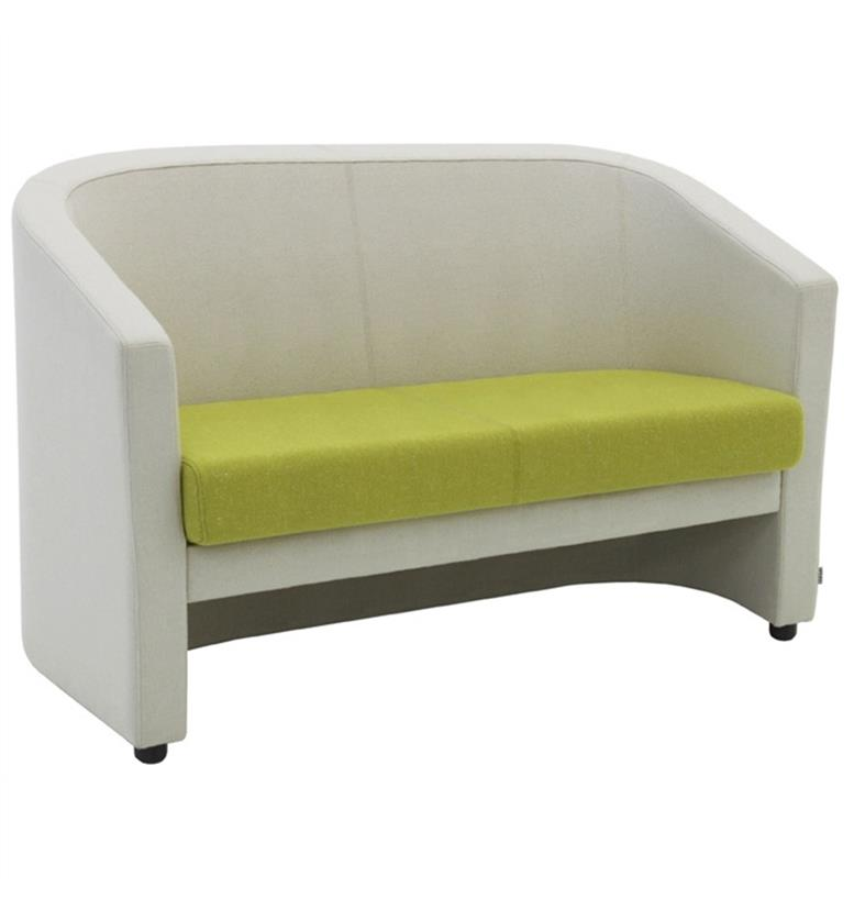 Verco Roma Double Sofa Cream And Green