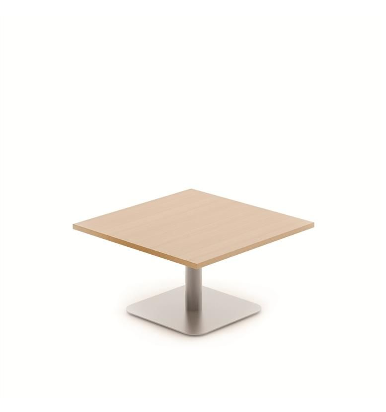 Komac Reef Square 600mm x 600mm Beech Coffee Table