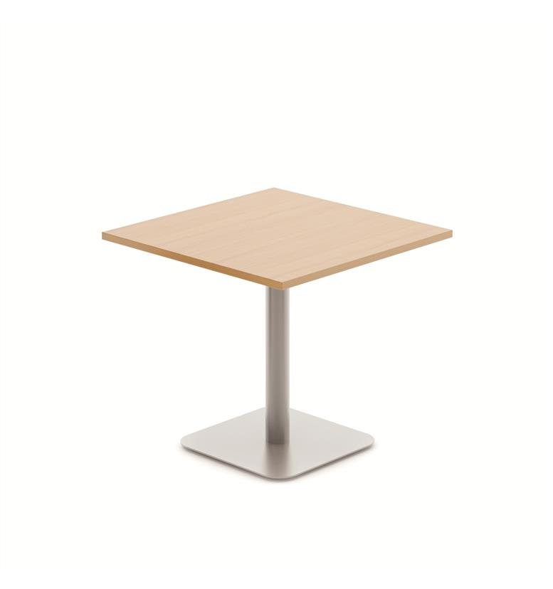 Komac Reef Square Mm X Mm WhiteBeech Meeting Table Office - Square meeting table