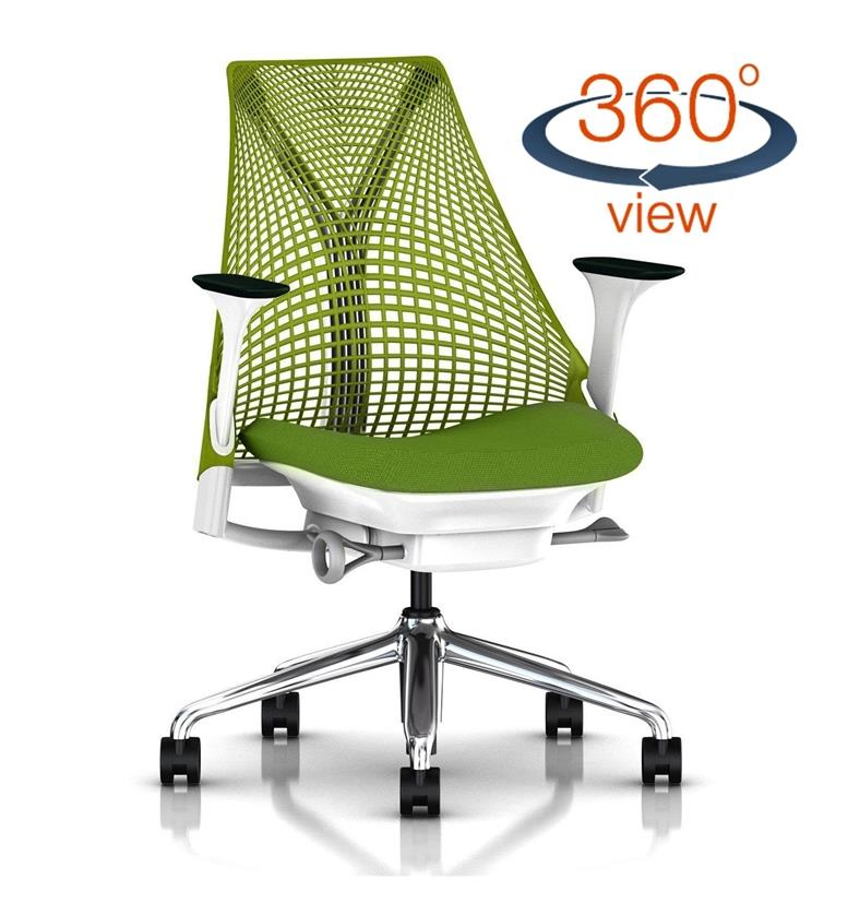 Herman Miller Sayl Office Chair Green