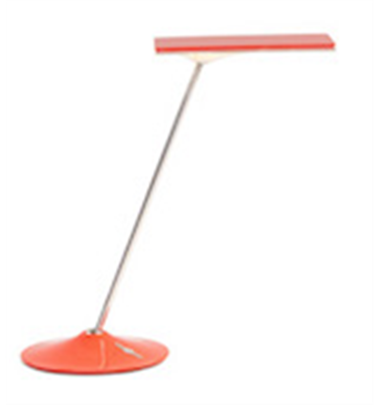 Humanscale Horizon LED Task Light Sunrise Orange