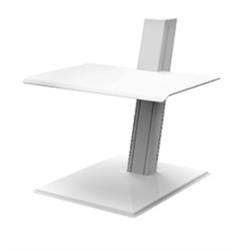 Humanscale Quickstand Eco Laptop white