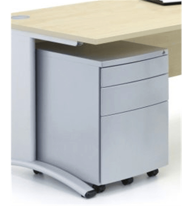 Verco under desk metal pedestal