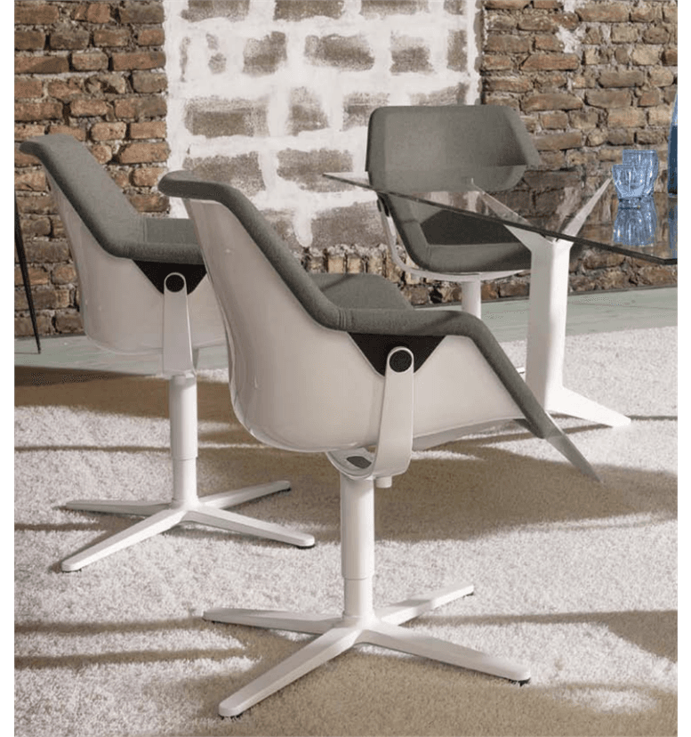 Viasit Re-Pend conference chair upholstered