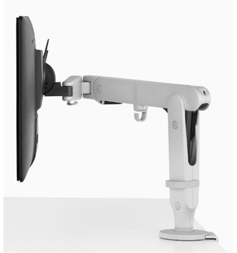 CBS Ollin Monitor arm silver