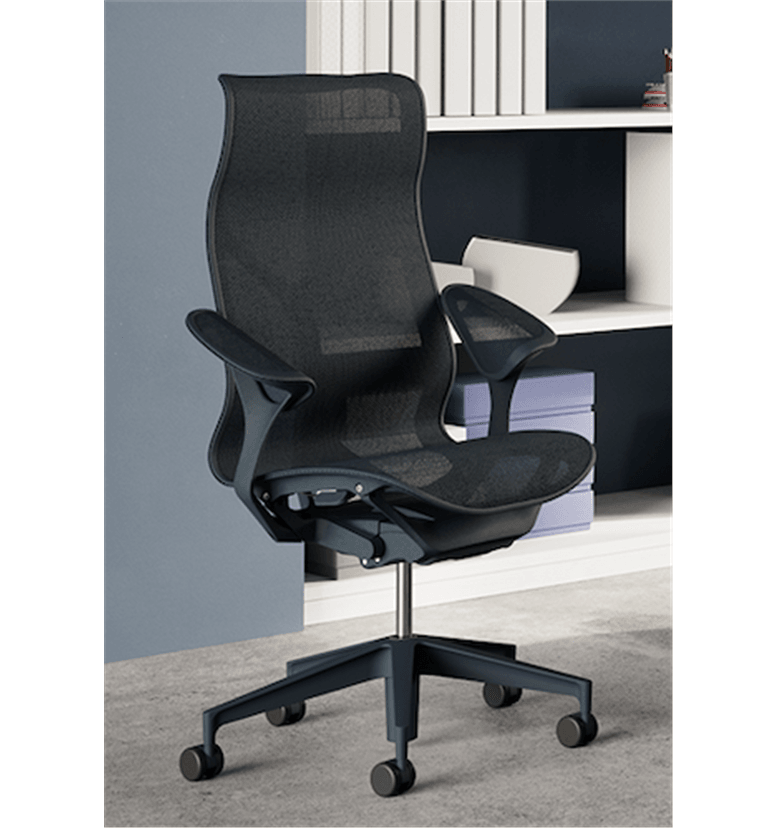 Herman Miller Cosm high back graphite chair