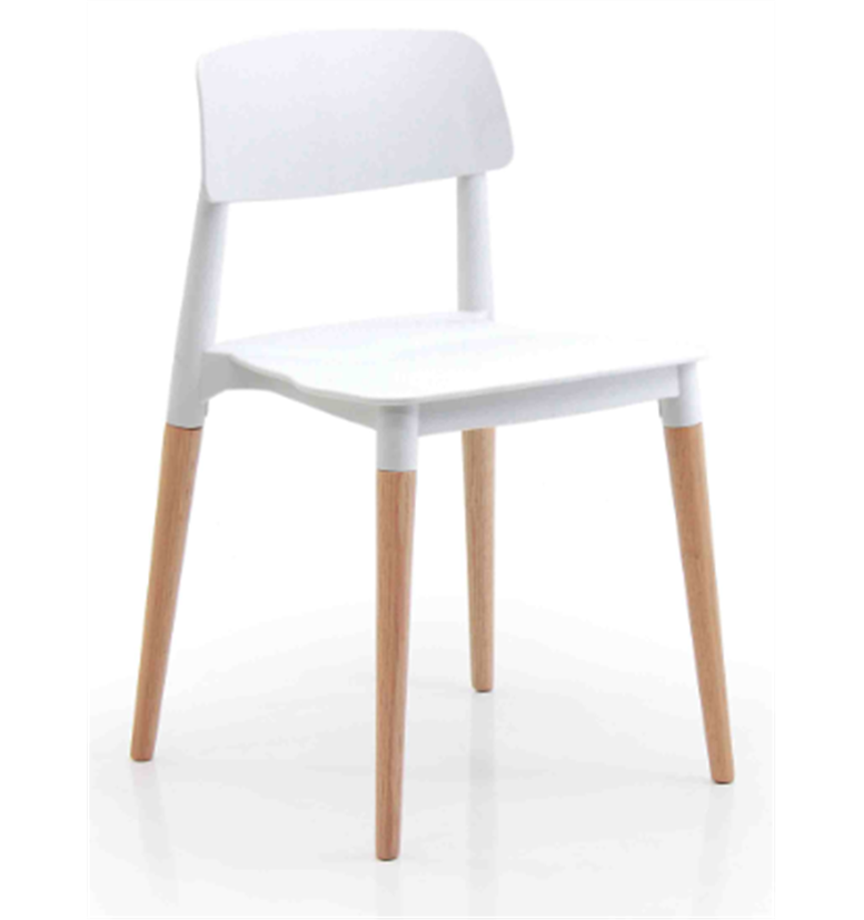 Verco Cleo chair in white