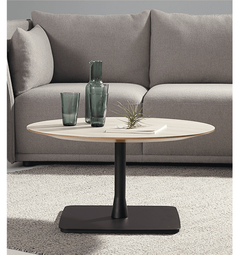 Allermuir Forty Seven Coffee Table Circular Top