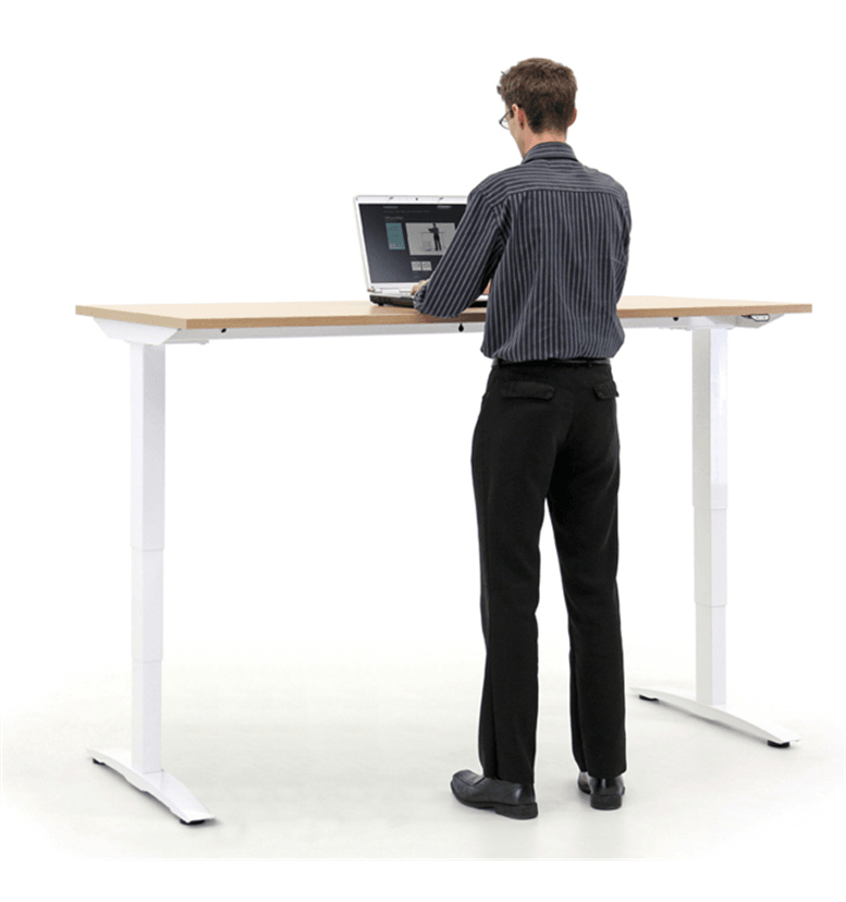 Verco Oblique Adapt - Height Adjustable Desk, Electric