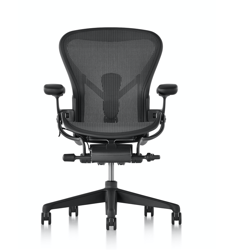 Pre Order Herman Miller Aeron Graphite Edition Size A Small Office Chairs Uk