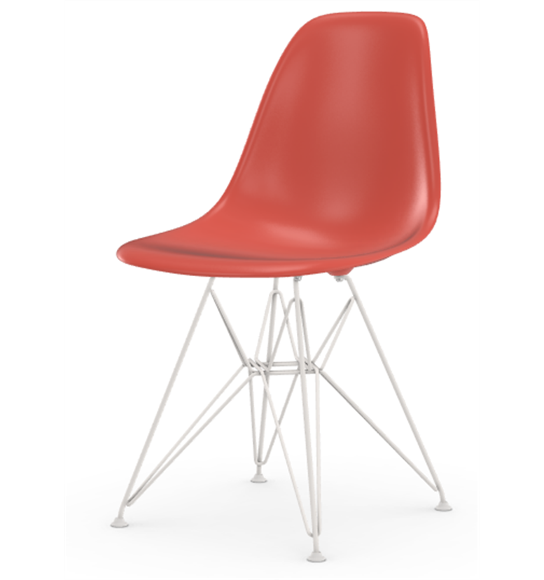 vitra eames dsr red