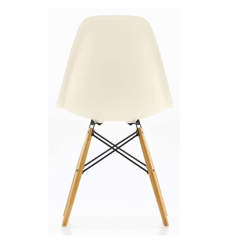 vitra eames dsw side chair cream office chairs uk
