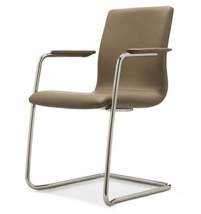 William Hands Cypher Cantilever leather chair