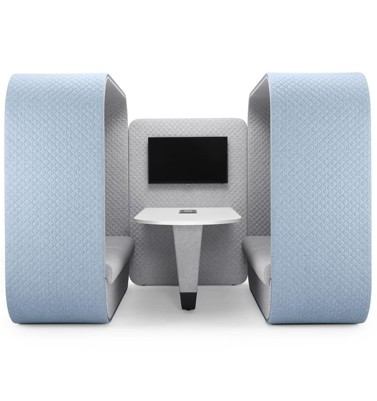 Boss Design Cocoon Media Seating Booth