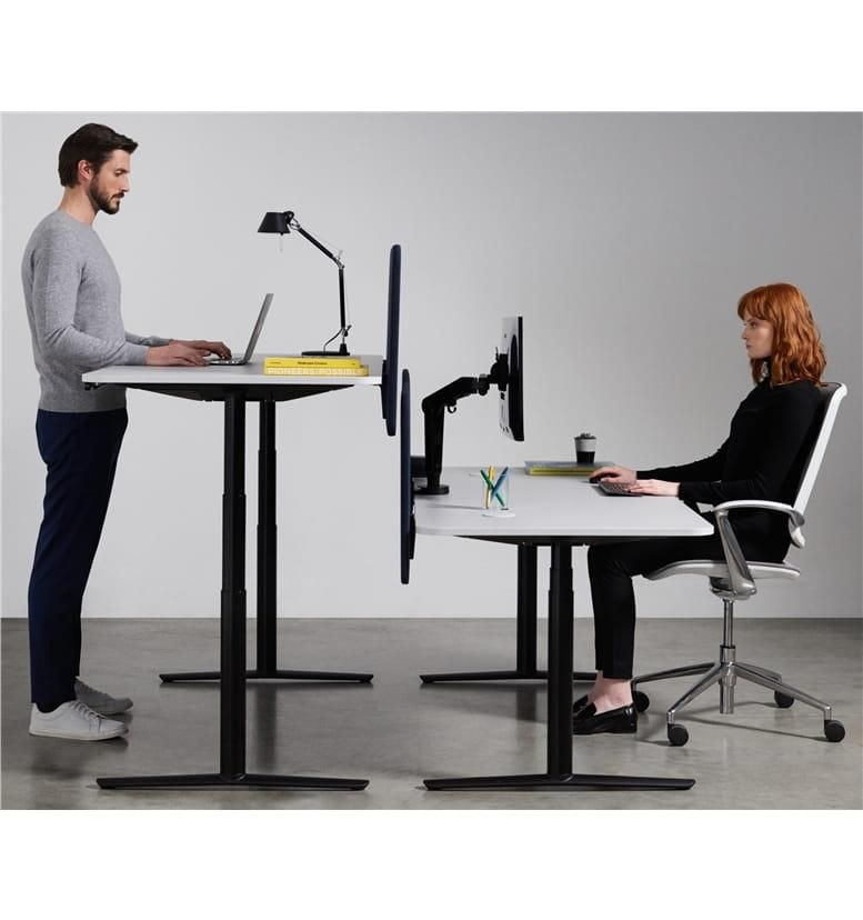 Boss Design acdc sit stand height adjustable desk