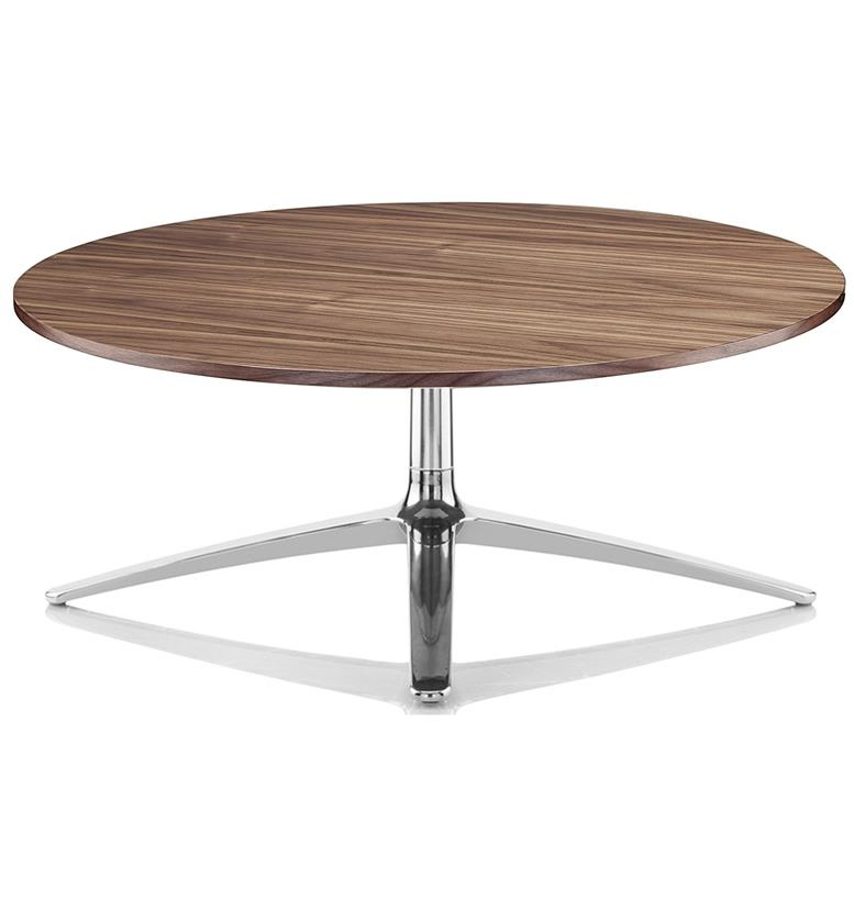 Walnut Oval Coffee Table Uk: Boss Design Axis Large Walnut Coffee Table