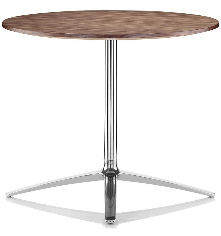 Boss Design Axis Large Black American Walnut 740mm High Table