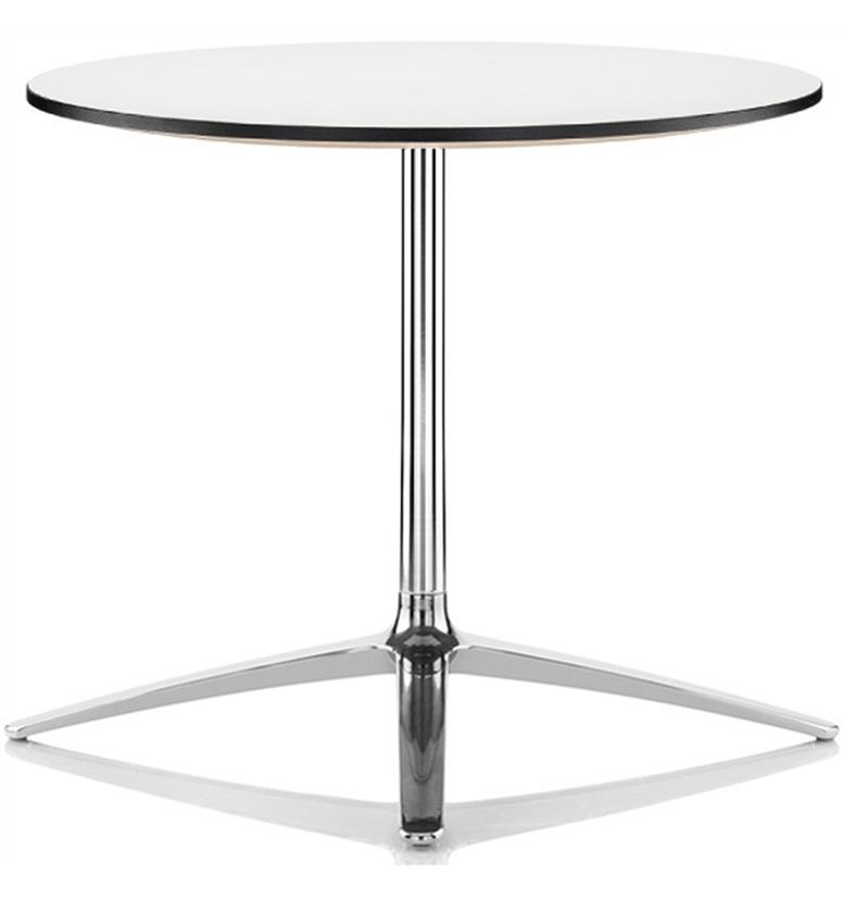 Boss Design Axis White Meeting Table