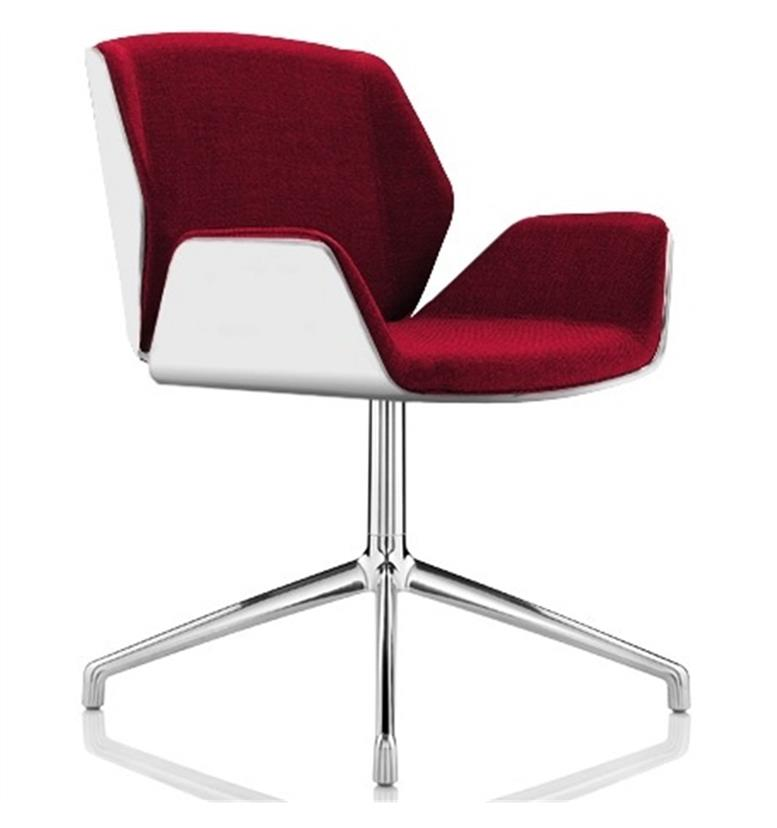 Boss Design Kruze Chair White Formica - Office Chairs UK