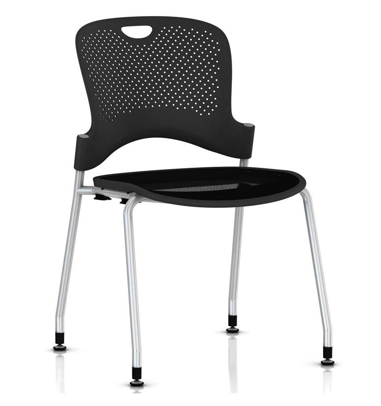 Herman Miller Caper Stacker Chair Silver Frame