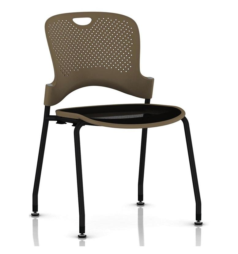 Herman Miller Caper Stacker Chair Black