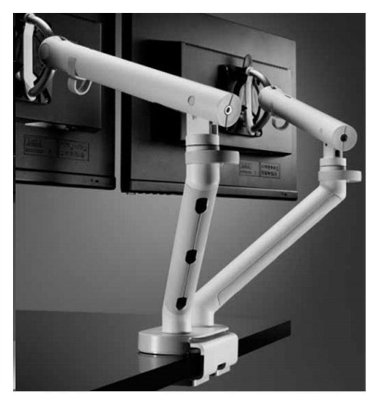 CBS Flo Dual Monitor Arm