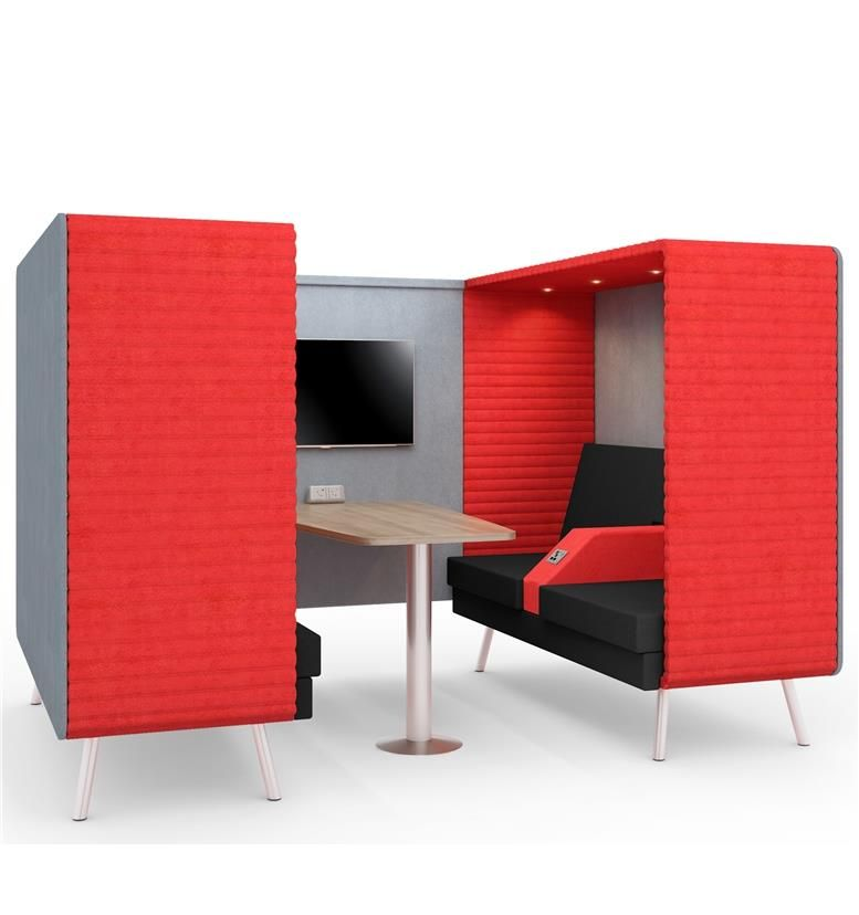 Acoustic Seating Booths