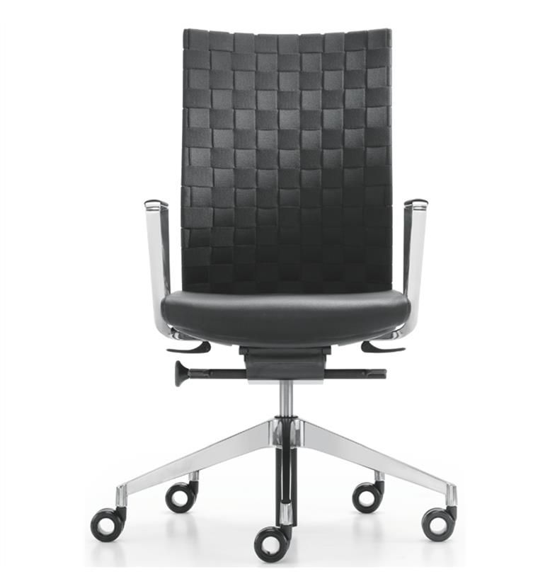 Girsberger Diagon Office Chair Woven Bands Front