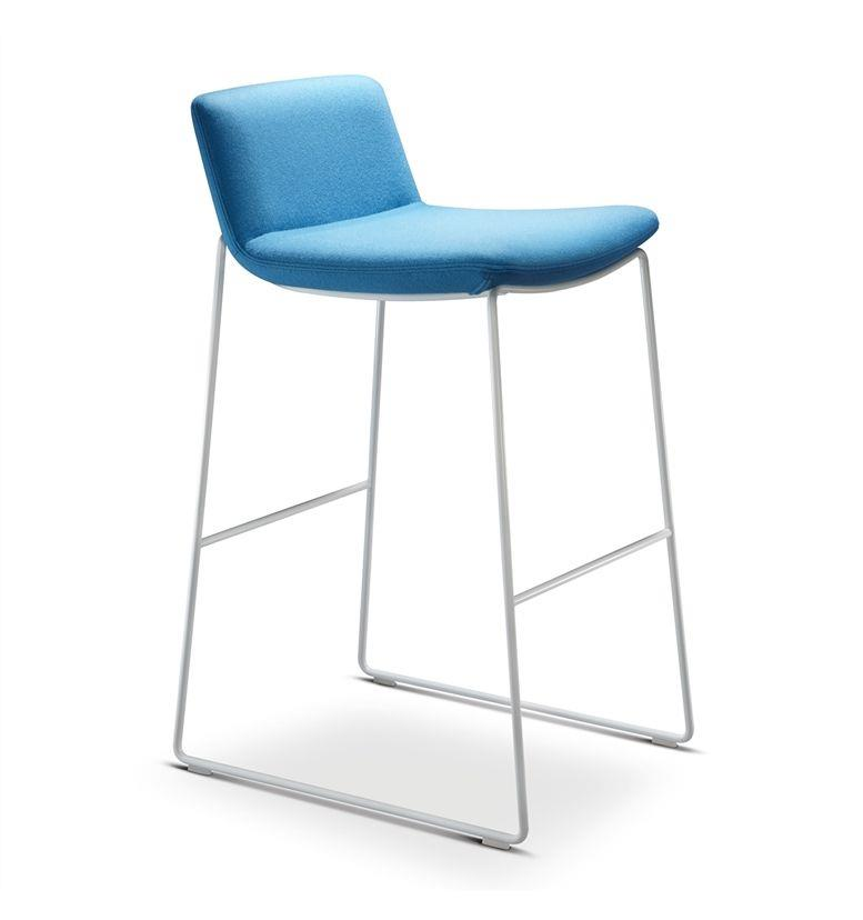 Connection Swoosh Bar Stool