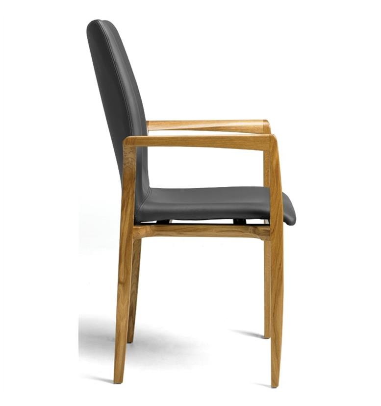 Hands Edera Wooden Chair Profile