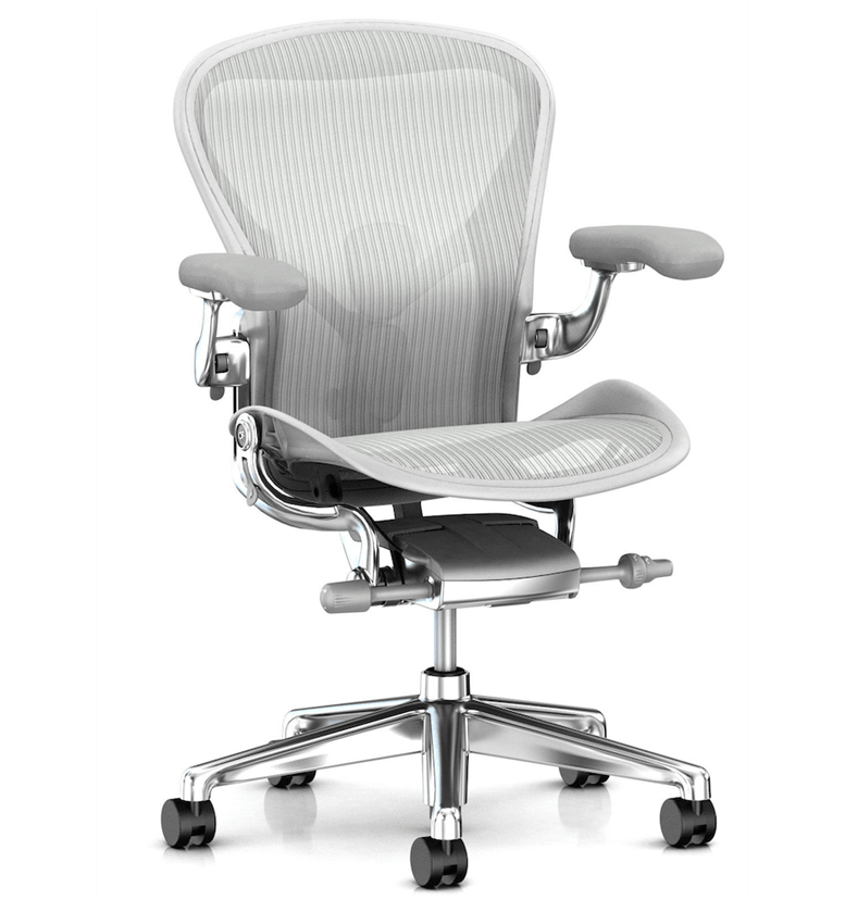 Herman Miller Aeron Polished with Mineral