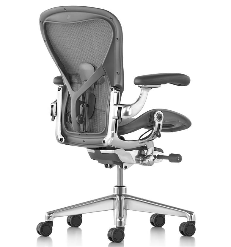 Herman MIller Aeron Polished Size C