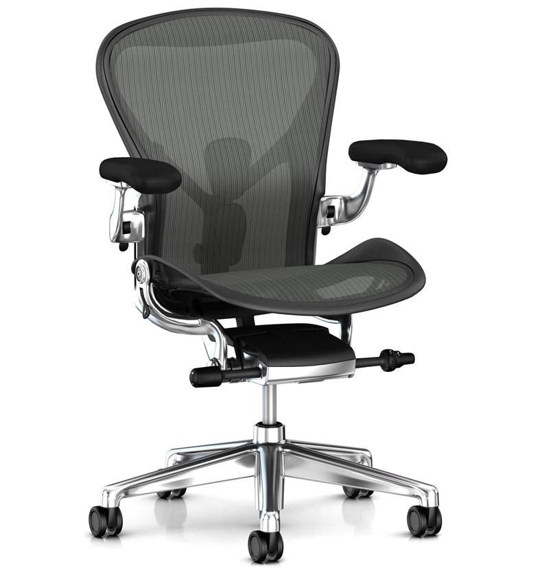 Herman Miller Aeron Remastered Polished Front