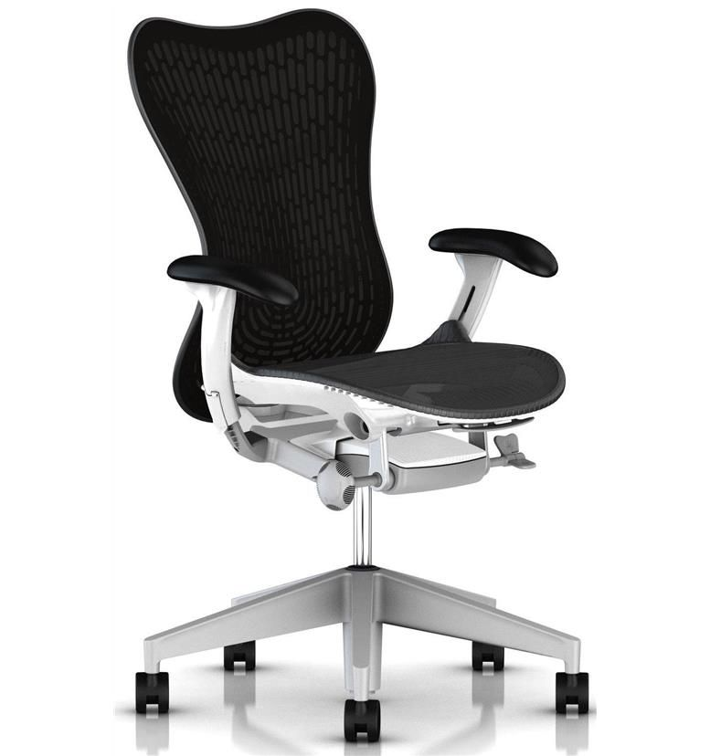 Herman Miller Mirra 2 Airweave Graphite and White
