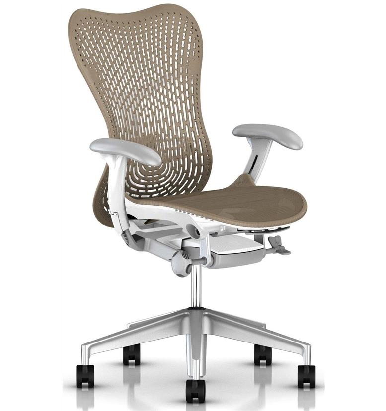 Herman Miller Mirra 2 Triflex Cappuccino office chair