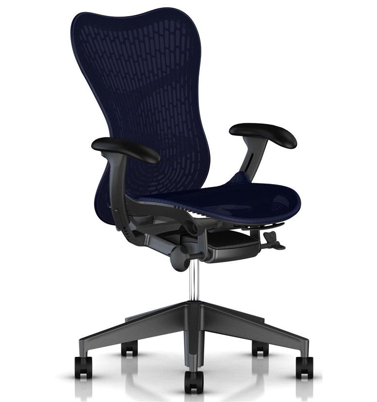 Herman Miller Mirra 2 Twilight with Graphite