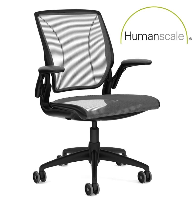 next day delivery humanscale diffrient world mesh office. Black Bedroom Furniture Sets. Home Design Ideas