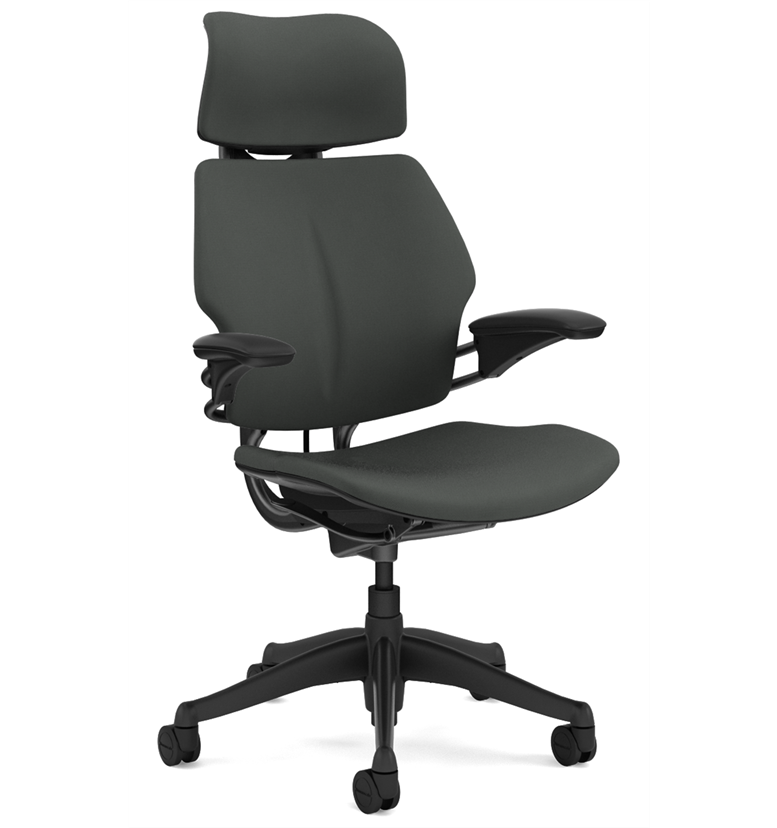 Humanscale Freedom Chair with Headrest Oxygen Revive Fabric