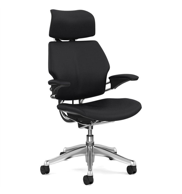 Humanscale polished freedom noir