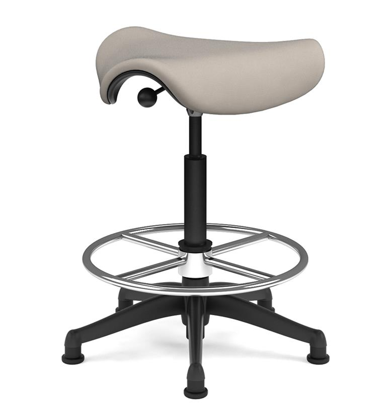 Humanscale Extra High Saddle Stool Spruce