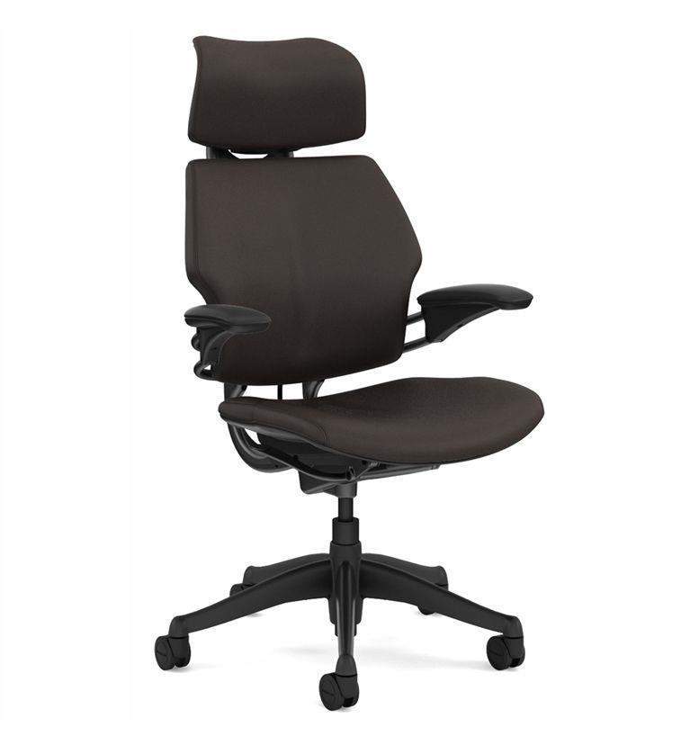 Humanscale leather freedom mocha