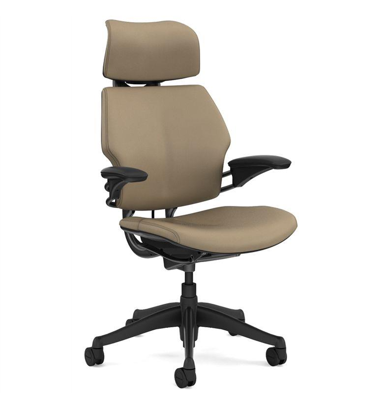 Humanscale Freedom Leather Sand